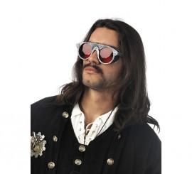 Gafas Naranja Steampunk