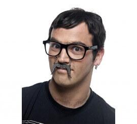 Gafas con Bigote Brillantes