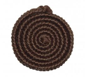 Crepe de lana MARRÓN para barbas y postizos