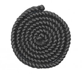 Crepe de lana NEGRO para barbas y postizos
