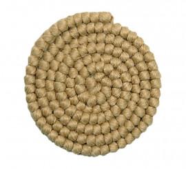 Crepe de lana RUBIO para barbas y postizos