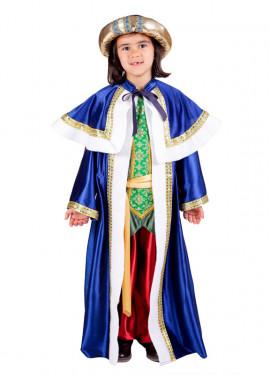 Disfraz de  Rey Mago Baltasar de niños