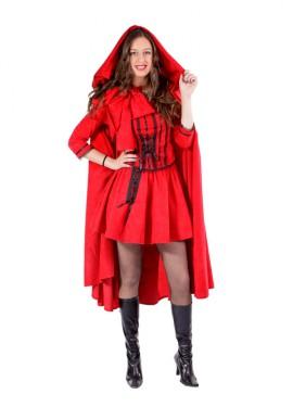 Disfraz de Caperucita Roja mujer - MADE IN SPAIN