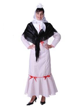Disfraz de Madrileña o Chulapa para mujer