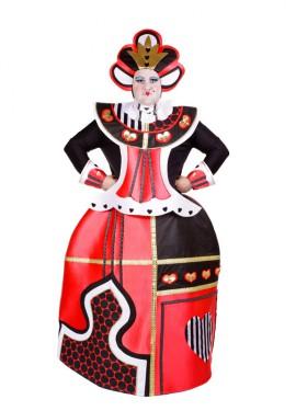Disfraz de la Reina de Corazones para adultos