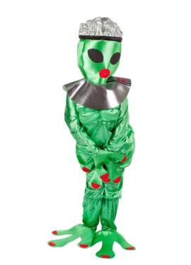 Disfraz de Alien Hembra para adultos - Cara tapada