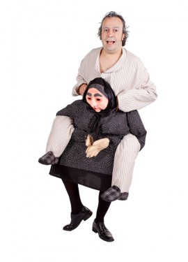 Disfraz de Abuela quejica para adultos