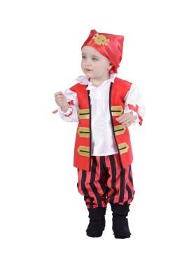 Déguisement Garçon Pirate pour bébés de 18 mois