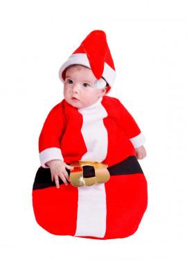 Saquito de Papa Noel 6 meses bebés para Navidad