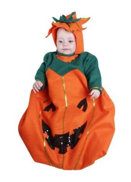 Saquito Calabaza 6 meses bebé para Halloween