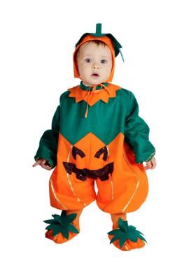 Pelele Calabaza bebés 10 meses para Halloween