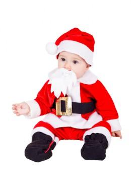 Disfraz de Pelele Papa Noel 10 meses