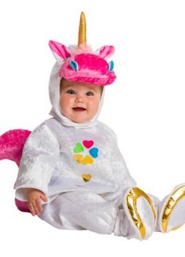 Déguisement Grenouillère Licorne pour bébés de 10 mois