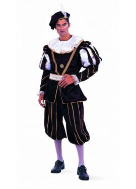 Disfraz de Época Príncipe Extralujo para hombre