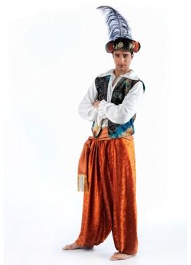 Disfraz de Tuareg Aladín Deluxe para hombre