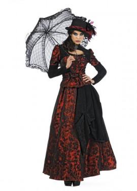 Déguisement de Dame Gothique Roxaria femme. Plusieurs tailles