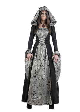 Déguisement de Dame Gothique Cassandra femme. Plusieurs tailles