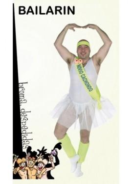 Disfraz de Bailarina para hombre. Despedidas de Soltero