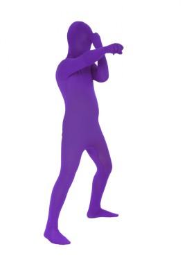 Disfraz de MORPHSUIT color morado talla M infantil