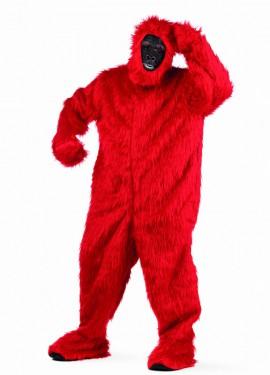 Disfraz de Gorila Rojo Deluxe para hombre
