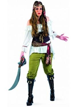Déguisement de Pirate Pillarde Deluxe pour Femme