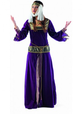 Disfraz de Medieval Jimena Deluxe para mujer