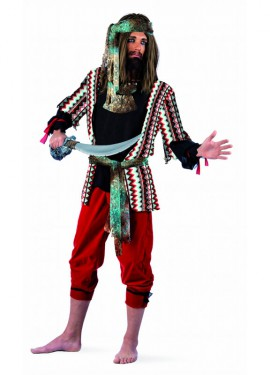 Disfraz de Pirata Malvado Deluxe para hombre