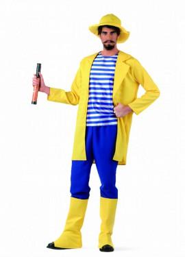Disfraz de Pescador Deluxe para hombre