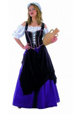 Déguisement Tavernière Médiévale pour Femme