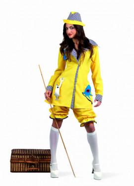 Disfraz de Pescadora Deluxe para mujer