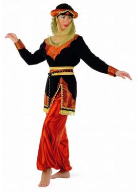 Disfraz de Paje Jazmín Caldera para mujer