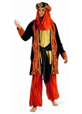 Disfraz de Paje Tuareg Caldera Deluxe para hombre