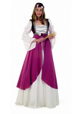 Disfraz de Clarisa Medieval para mujer