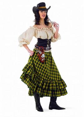 Disfraz de Vaquera Bandida para mujer