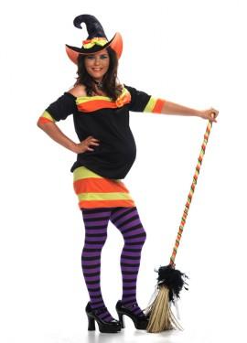 Disfraz Bruja Deluxe para Embarazadas