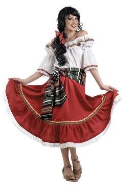 Disfraz de Mexicana Deluxe para mujer