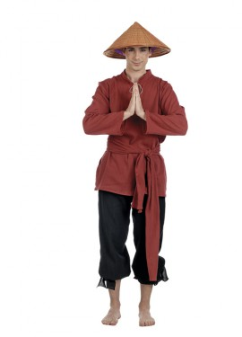 Disfraz de Chino Juzmin Deluxe para hombre