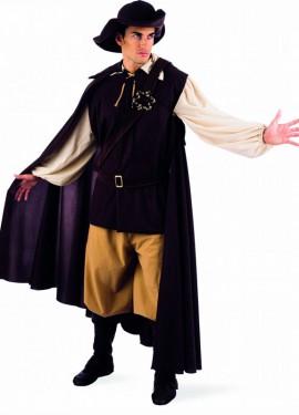 Disfraz de Aventurero Medieval deluxe para hombre