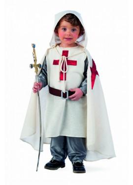 Disfraz Medieval Templario para niños
