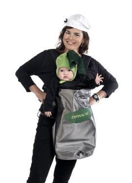 Funda Deluxe Bebé Espinacas + Gorro Marinero de adulto