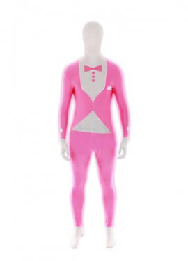 Déguisement Morphsuits Costume Rose Fluo adultes plusieurs tailles