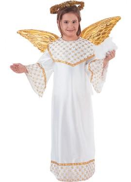 Disfraz de Angel Dorado para niños