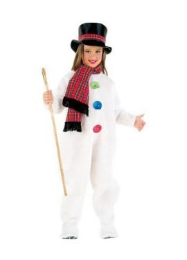 Disfraz Muñeco de Nieve infantil