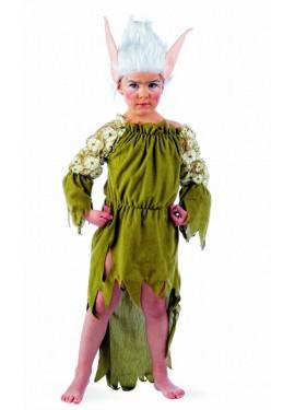 Disfraz de Elfa Nadia deluxe niña (Varias tallas)