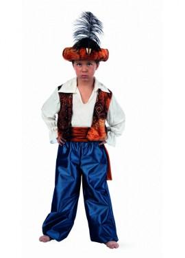 Disfraz de Tuareg Aladín Deluxe para niño