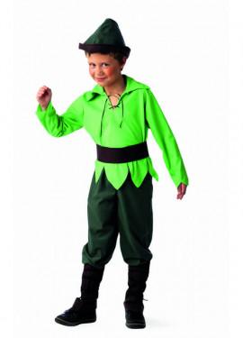 Disfraz de Elfo del Bosque Deluxe para niño