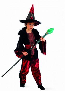 Disfraz de Brujo Deluxe para niño
