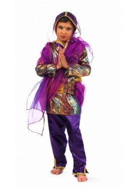 Disfraz de Hindú Ria Deluxe para niña (Varias tallas)