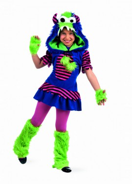 Disfraz de Monstruos Alice Deluxe para niña
