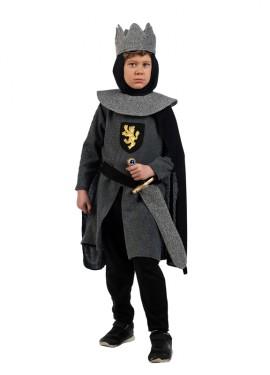 Déguisement de Chevalier Médiéval Gris pour garçon